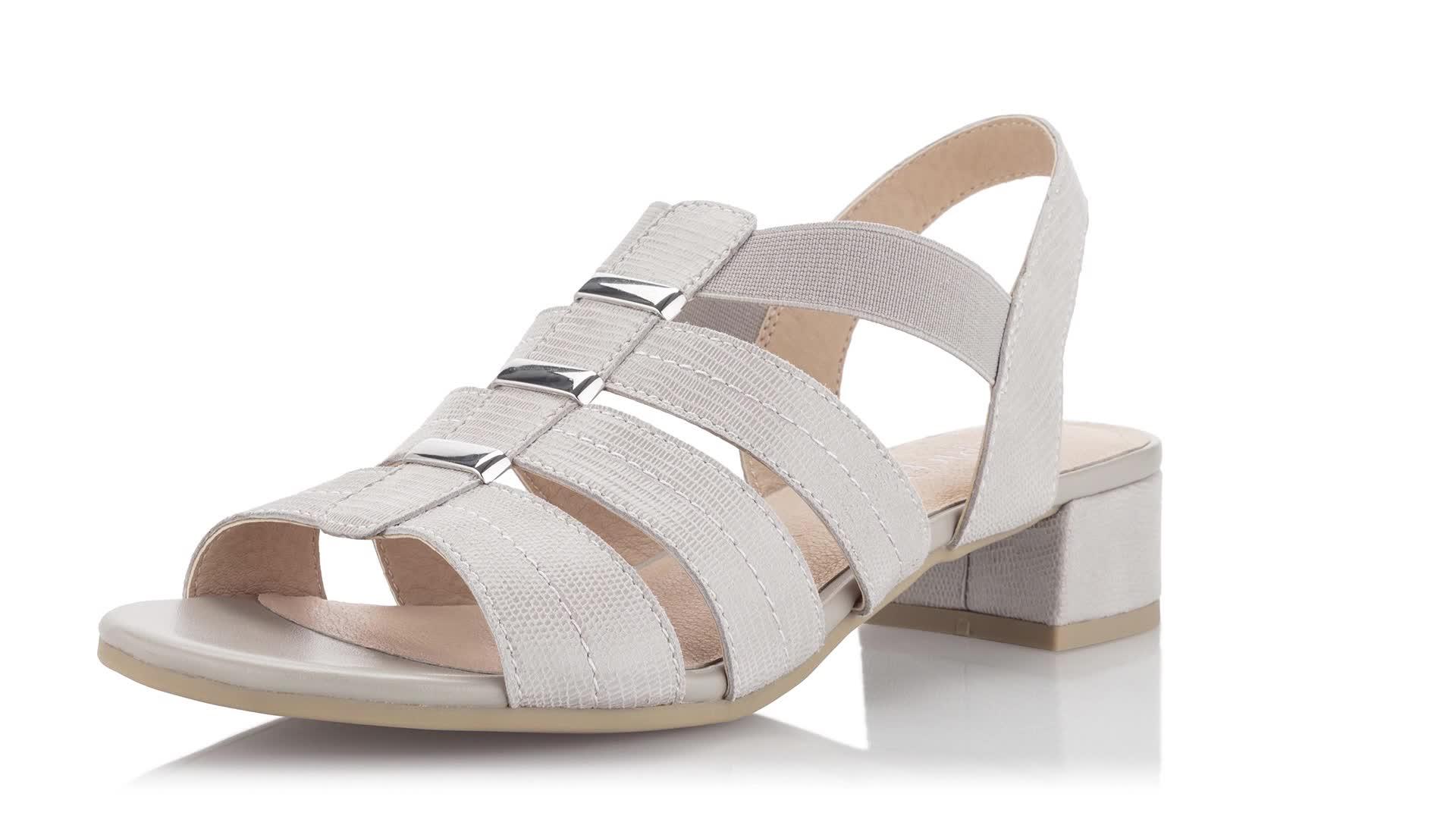 Caprice Sandalette aus Glanzleder