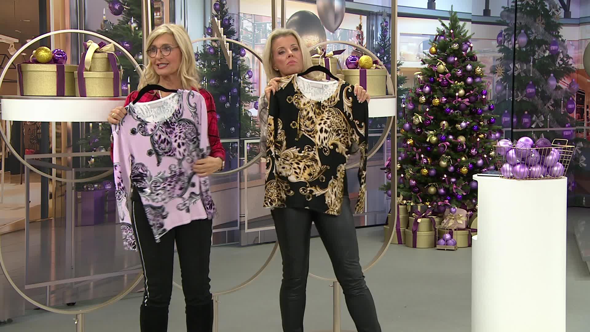 Pullover im Ornament Design, hier online